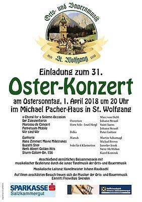 Oster Konzert 1.4.2018 - 20.00 Uhr