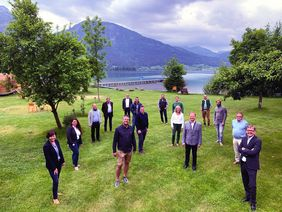 Mitglieder des Beirates der Wolfgangsee Tourismus Gesellschaft
