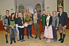 Begrüßungs-Herz vom Team des Tourismusverbandes